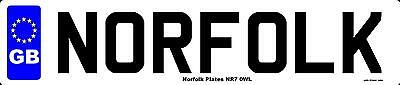 norfolk plates
