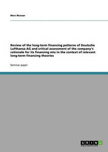 The finance strategy of Deutsche Lufthansa AG in the context of long-term financ