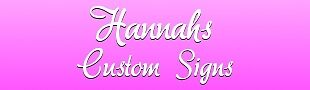 Hannahs Custom Signs