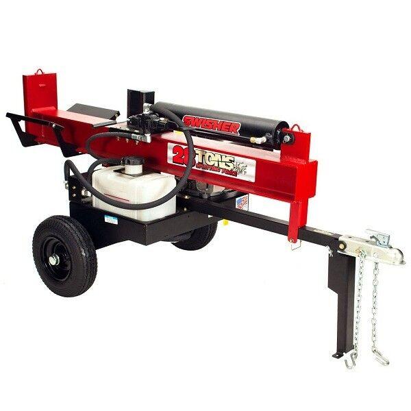 Holzspalter Mit Motor Mit Einem Holzspalter