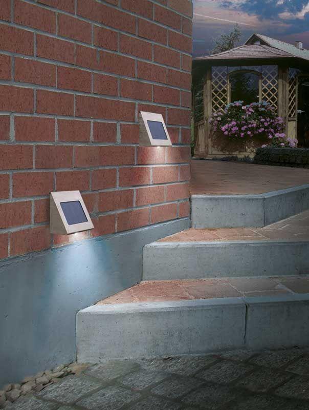 wissenswertes ber aufputz solarleuchten ebay. Black Bedroom Furniture Sets. Home Design Ideas