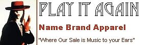 Play It Again Name Brand Apparel