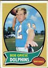 Bob Griese Football Trading Cards