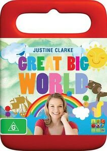 Justine Clarke Great Big World - New/Sealed DVD Region 4