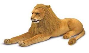 Melissa-and-Doug-Plush-Animal-Stuffed-Lion-New