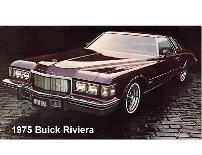 1975 Buick Riviera Auto Magnet