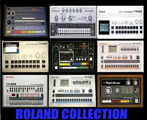 Roland-Tr-808-909-606-505-727-707-626-66-Cr78-Samples
