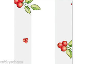 25-Red-Berries-4x9-Clear-Cello-Cellophane-Gift-Bags