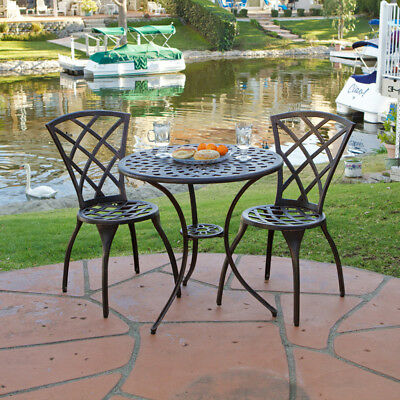 New Orleans Style Furniture Simple Of Cast Aluminum Bistro Set Patio Furniture Photo
