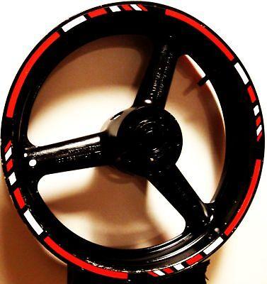 Rim Stripes Wheel Decals Tape Sticker Ducati 1098 S R