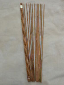 One-dozen-33-inch-Tonkin-Bamboo-Arrow-Shafts-55-60-to-80-85