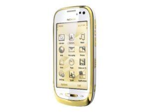 Nokia-C7-00s-ORO-Gold-8-GB-Ohne-Simlock-edles-Smartphone-mit-Leder-NEU