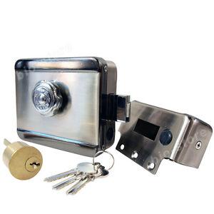 Electric-Electronic-Door-Lock-Remote-Access-Video-Intercom-Doorphone-Deadbolt
