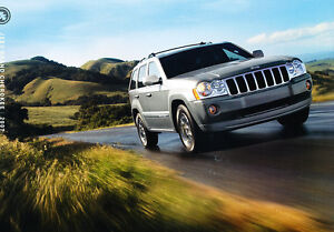 2007-Jeep-Grand-Cherokee-Original-Sales-Brochure-Catalog-Book