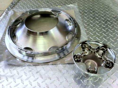 Trailer Hub Caps 12 : Pc chrome trailer wheel hub cap rim covers on popscreen