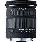 Sigma  EX DC Macro 18 mm - 50 mm F/2.8  Lens For Canon