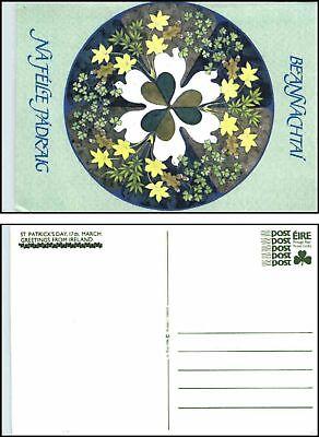 1986 St. Patrick`s Day Bildpostkarte Irland Ganzsache