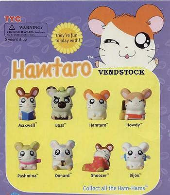 Hamtaro Mini Tomy Figures Anime Cup Cake Topper Favor Displays Decorations
