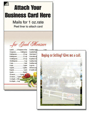 MAGNETIC BUSINESS CARDS NOTEPADS REALTOR HOUSE CHEAP FREE SHIP BEST SELLER