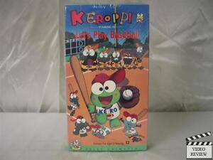 Keroppi-Volume-4-Lets-Play-Baseball-VHS-NEW