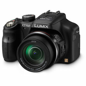 Panasonic-DMC-FZ150-12-1-MP-Digital-Camera-Black