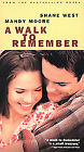 A Walk to Remember VHS Tapes