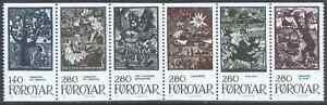 Denmark Faroe 1984 Mi 106-11 Zd ** Marchen Fairy Bajki - Dabrowa, Polska - Denmark Faroe 1984 Mi 106-11 Zd ** Marchen Fairy Bajki - Dabrowa, Polska