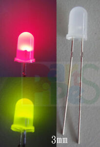 200x-3mm-Bi-Color-Changing-Bi-Polar-Red-Green-Led-RGFs
