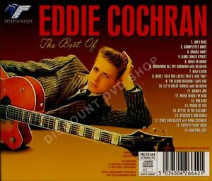 EDDIE COCHRAN THE BEST OF........ A NEW 19 TRACK CD.