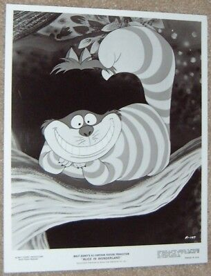 ALICE IN WONDERLAND  black and white print - DISNEY # 3 - THE CHESHIRE CAT