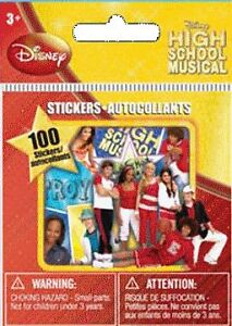 HIGH SCHOOL MUSICAL STICKERS - 100 HSM STICKERS - NEW