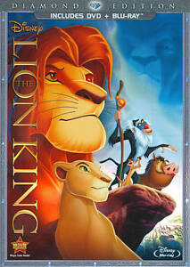 The-Lion-King-Diamond-Edition-2-Disc-DVD-Blu-Ray-Disney-Movie-Brand-NEW