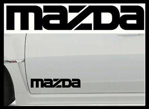 2-X-MAZDA-LARGE-VINYL-CAR-STICKERS-DECALS-MX5-MPS-RX8