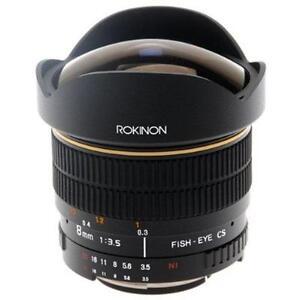 Rokinon 8mm F3.5 Fisheye Lens for Olympus 4/3 Mount