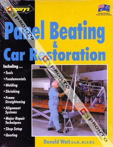GREGORY'S WORKSHOP MANUAL CAR RESTORATION PANEL BEATING