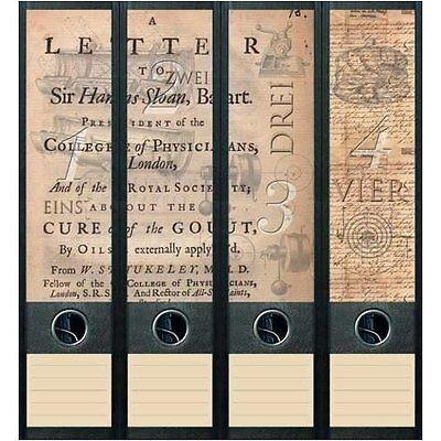 File Art 4 Design Ordner-Etiketten Letter & Types............................042