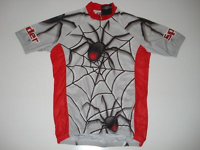 Spider Team Wild Cycling Road Bike Jersey Size S