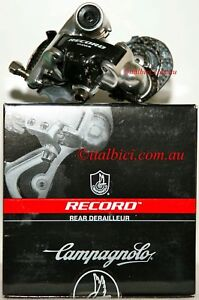 CAMPAGNOLO-RECORD-10-Speed-SHORT-Cage-REAR-DERAILLEUR-CARBON-Ti-DISCOUNTED-NEW