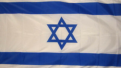 ISRAEL FLAG 5X3 Jewish Judaism Jerusalem Star of David
