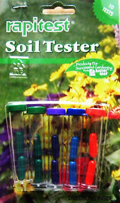 Soil Tester, By Rapitest,10 Test, Detailed Instructions