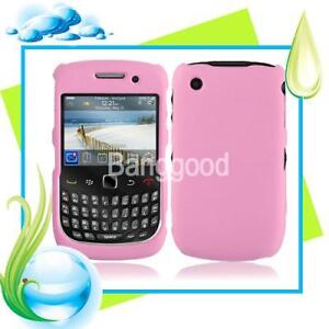 1X Pink Hard Case Cover For Blackberry Curve 8520 9300