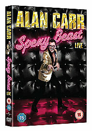 Alan Carr  Spexy Beast DVD 2011 - <span itemprop=availableAtOrFrom>Norwich, United Kingdom</span> - Alan Carr  Spexy Beast DVD 2011 - Norwich, United Kingdom