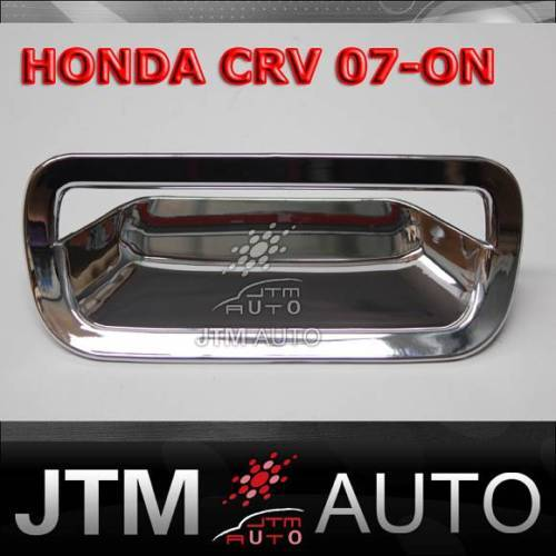 HONDA CRV CHROME TRUNK REAR DOOR HANDLE COVER 2007-2012
