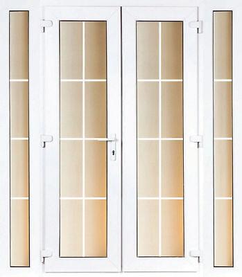 Upvc French Patio Door Georgian Bar Glass Inc Sidelites