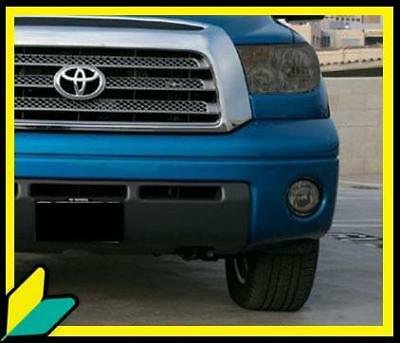 Tundra Trd Fog Light Smoke Overlays Tint Film Kit Vinyl