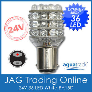 24V-36-LED-BA15D-1142-GLOBE-Truck-Caravan-Boat-Navigation-Anchor-Light-Bulb