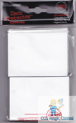 Ultra Pro White Deck Protectors 100 Sleeves Toys