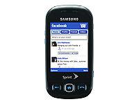 Samsung-SPH-M350-Seek-Black-Blue-Sprint-Cellular-Phone