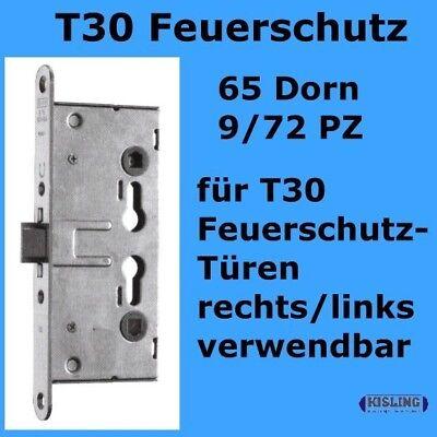 Brandschutztür Schloss 65 Dorn 9/72 PZ rechts-links T30 Schloss R+L Feuerhemmend