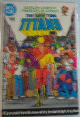 Dc Comic The New Teen Titans  Drug Awareness Program